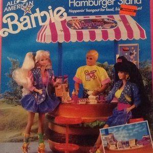 Barbie Hamburger Stand 1991 NIB